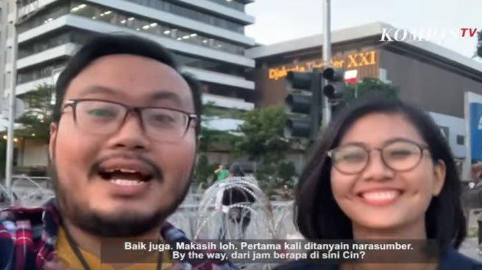 Tanggapan Cindy Permadi Reporter Kompas TV yang Viral Saat Aksi 22 Mei, Ungkap Kronologi Sebenarnya
