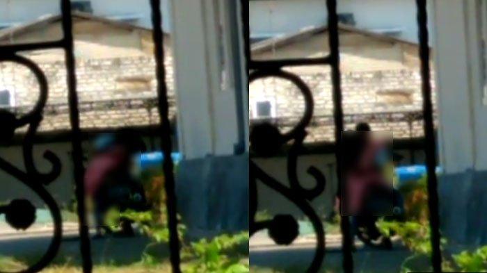 Video Viral Pasangan Lakukan Hal Tak Pantas di Dekat Gedung KONI Sampang, Satpol PP Bereaksi