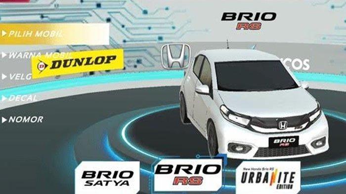 Slalom Game Virtual Honda Brio, Rasakan Sensasi Balap di 7 Kota Besar Indonesia