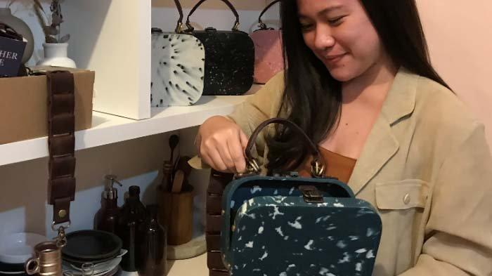 Tas Fashion dari Sampah, SolusiGabrielle Agatha untuk Peduli Lingkungan lewat Tugas Akhir