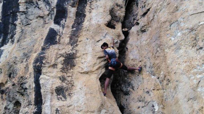 Wisata Alam Tebing Maha Waru Cok Gunung Pamekasan, Cocok untuk Para Penantang Adrenalin