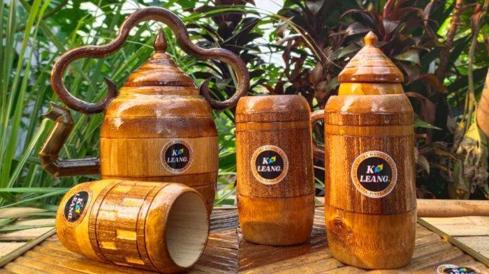 Di Tangan Kreatif Masyarakat Jasinga, Limbah Bambu 'Disulap
