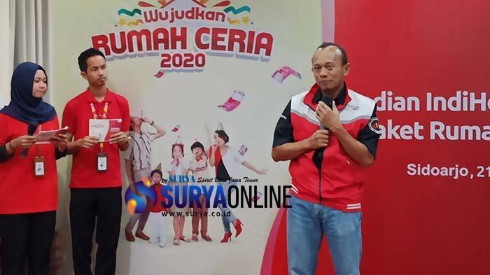 90 Persen Kecamatan di Jatim Sudah Fiber Optik, Telkom Targetkan Pelanggan IndiHome Berlipat di 2020