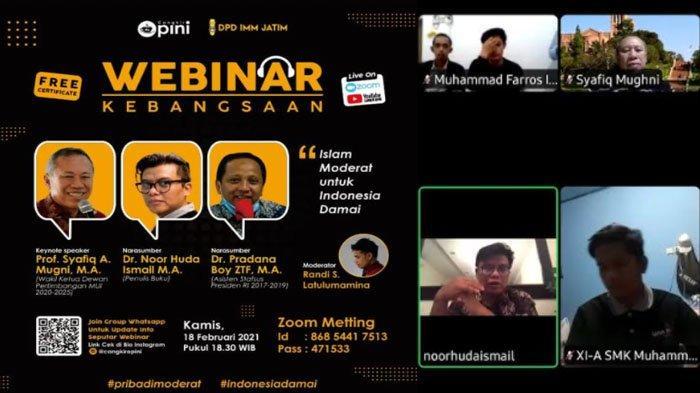 Diskusi Islam Moderat Untuk Indonesia Damai