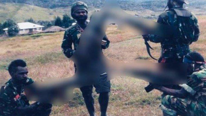 Kelompok Kriminal Bersenjata (KKB) Papua pimpinan Tendius Gwijangge yang telah menembak mati 4 orang di Yahukimo.