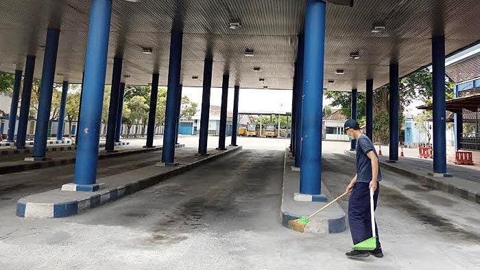 Pembatasan Operasional Otobus, Terminal Bus Gayatri Tulungagung Sepi, Hanya Bus Perintis yang Jalan