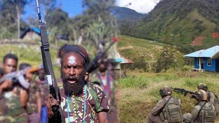 Perburuan Teroris KKB Papua, TNI Polri Ditembaki di Pegunungan Ilaga, Warga Takut Pilih Mengungsi