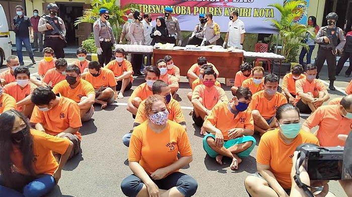 Kasus Narkotika di Kota Kediri Meningkat Selama Pandemi Covid-19, Polisi Jelaskan Penyebabnya