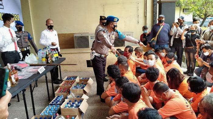 Operasi Pekat di Kota Kediri Ungkap 110 Kasus dan Amankan 114 Tersangka