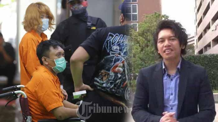 Tersangka mutilasi Laeli Atik Supriyatin dan Fajri dan foto manajer HRD Rinaldi Harvey.