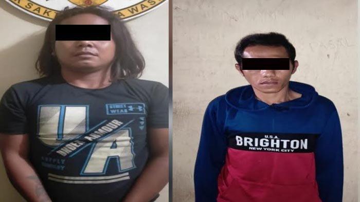 Dua Pelaku Pencurian dengan Kekerasan di Kandangan Kediri Berhasil Dibekuk Polres Kediri
