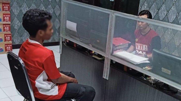 Curi Handphone Seharga Rp 3 Juta, Pemuda Pengangguran di Kabupaten Nganjuk Ditangkap Polisi