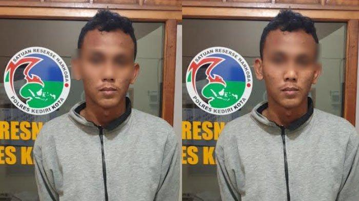 Pemuda Kediri Edarkan Sabu-sabu dan Pil Dobel L Diringkus Polisi