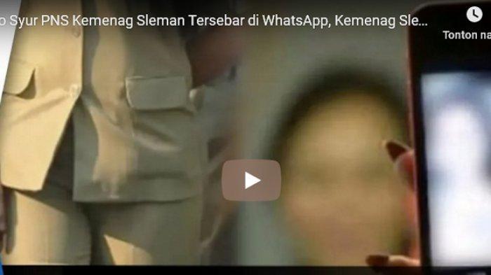 Fakta Terbaru Video Hubungan Intim Pegawai Kemenag, Direkam di Luar Negeri, Disebarkan Prianya