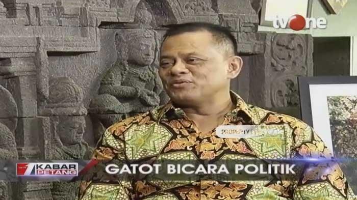 Gatot Nurmantyo Bandingkan Anggaran TNI & Polri Tak Sepadan Saat Isi Pidato Kebangsaan Prabowo