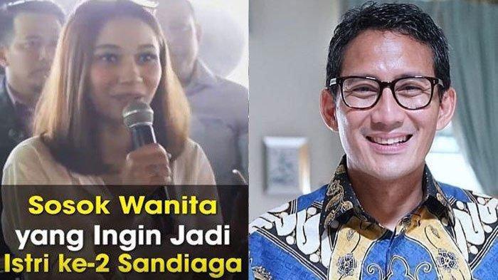 Terungkap Chat Whatsapp (WA) Tiffani yang Viral Ingin Jadi Istri ke-2 Sandiaga Uno, 'Ini Bukti Saya'