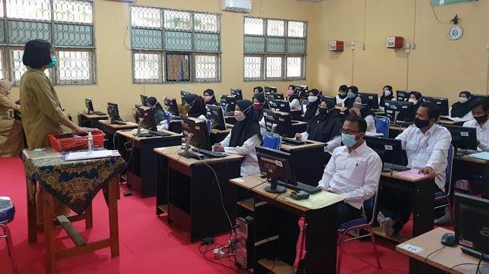 2.077 Peserta Ikuti Tes Seleksi Kompetensi PPPK Guru di Kabupaten Mojokerto
