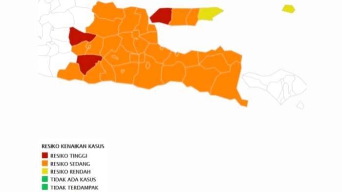 Zona Merah di Jatim Bertambah, Selain Bangkalan kini Menyusul Ponorogo dan Ngawi