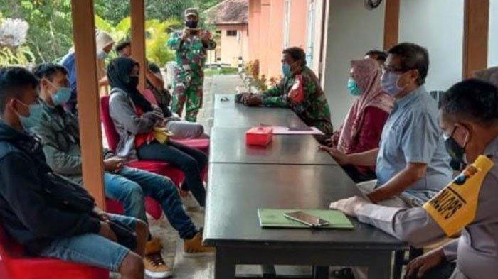 Satgas Penanganan Covid-19 Kabupaten Nganjuk Karantina 3 Pekerja Migran Baru Pulang dari Malaysia