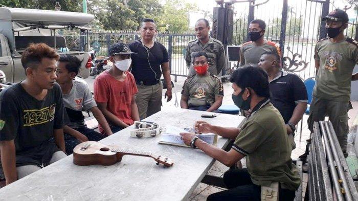 Tiga Pengamen Ajak Satpol PP Adu Lari, Hasil Ngamen untuk Bukber di Restoran