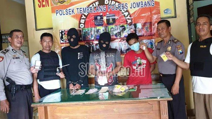 Asyik Nyabu, Pedagang Ayam dan Dua Rekannya di Jombang Digerebek Polisi