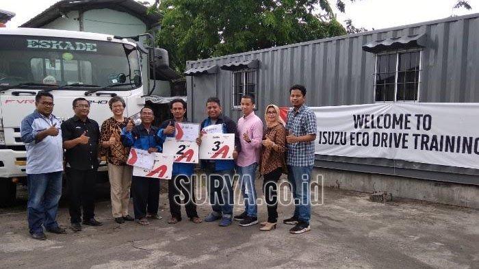 Agar Tak Ugal-ugalan di Jalan dan Hemat BBM, Sopir Truk Isuzu Ikuti Eco Drive Contest