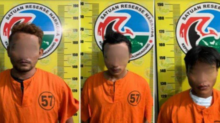 Tiga Pemuda Tulungagung Ditangkap Karena Mengedarkan Sabu-sabu dan Ganja