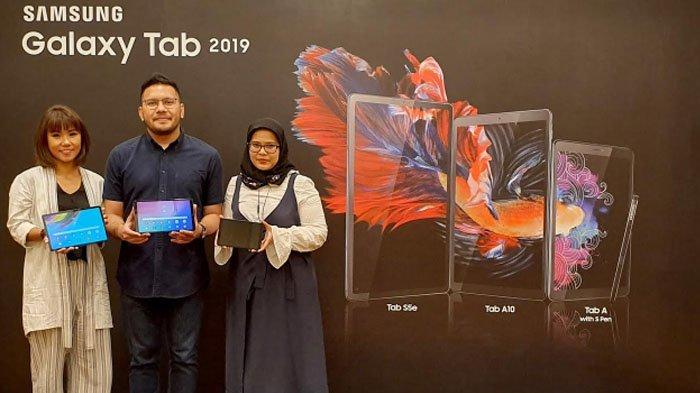 Samsung Perkenalkan 3 Varian Tab pada Peluncuran Galaxy A70 dan A80 di Bangkok Thailand
