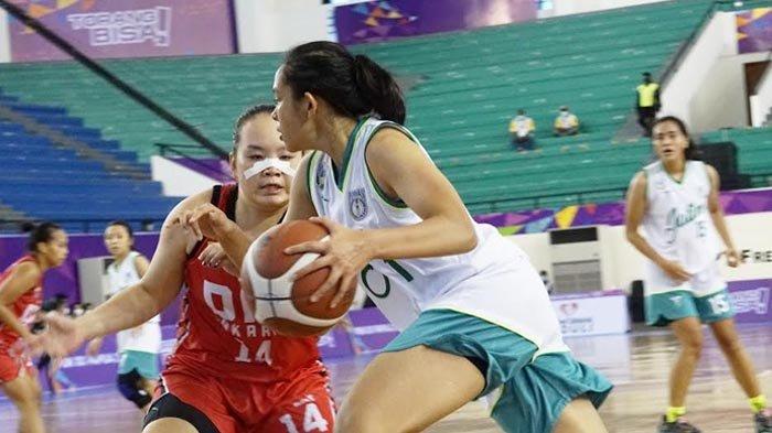 Tim Basket Putri Jatim Raih Medali Emas Usai Kalahkan Bali