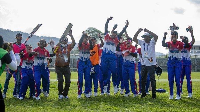 Perolehan Medali PON XX Papua 2021 - Papua dan Bali Memimpin Berkat Sukses di Cabor Criket