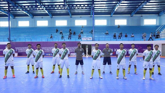 Jadwal Futsal PON XX Papua 2021 - Jatim Siapkan Bonus Demi Kalahkan Papua di Semifinal Hari Ini