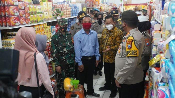 2 Pengelola Swalayan di Kota Mojokerto Disanksi Denda Rp.200 Ribu Usai Langgar Protokol Kesehatan