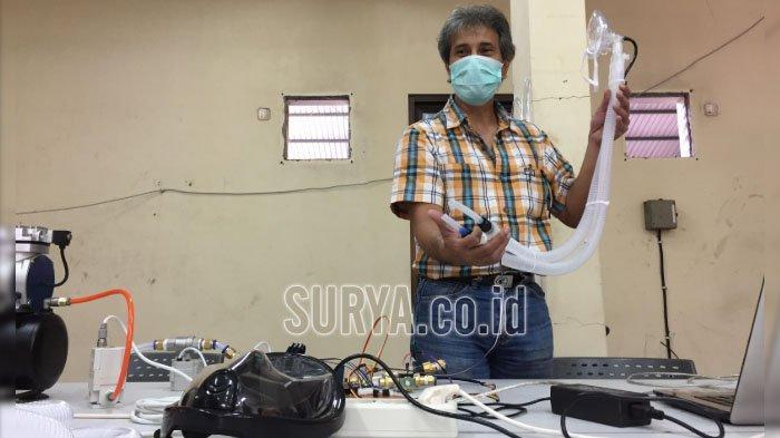 Ventilator Sederhana Ciptaan UB Tech, Solusi Kelangkaan di Tengah Pandemi Covid-19