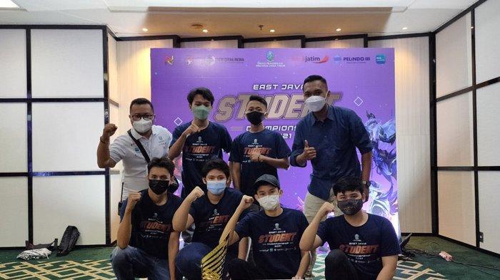 SMAN 2 Lumajang Juara East Java Student Championship Cabang Game Mobile Legend E-Sport