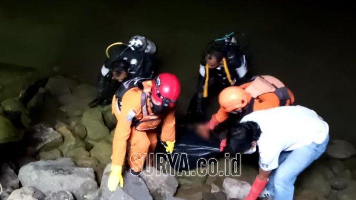 Penyelam Basarnas Temukan Bocah yang Tenggelam di Embung Sidem Kabupaten Tulungagung