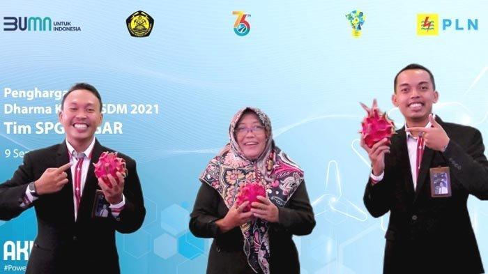 Tiga Tim Inovator PLN Raih Penghargaan Dharma Karya ESDM 2021, termasuk Tim SPG BUGAR Banyuwangi