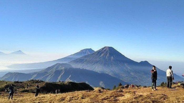 Syarat Mendaki Gunung Sindoro, Sumbing dan Prau di Wonosobo, Perhatikan Waktu Pendakian