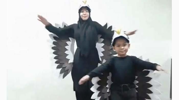Asyiknya Kompetisi Senam Keluarga alaTK Al Falah Darussalam Waru, Sidoarjo
