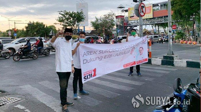 Gelar Aksi Simpatik, TMP Surabaya Ajak Masyarakat Tolak Politik Uang di Pilkada Serentak 2020