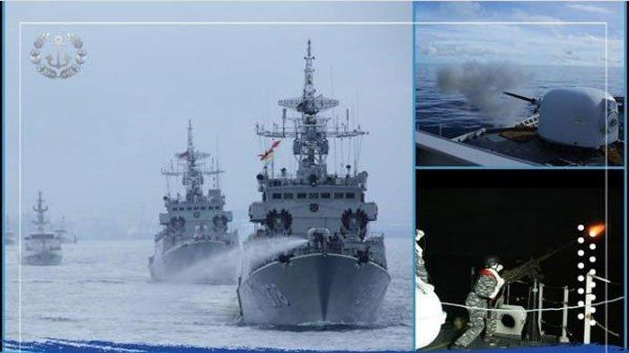 Setelah Gelar Latihan Perang Dekat Laut China Selatan, TNI AL Kini Kerahkan 9 Kapal Perang ke Natuna