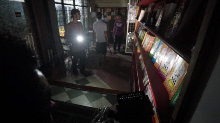 Ketahuan Bobol Toko Buku Legendaris di Surabaya, Pelaku Kabur Lewat Atap