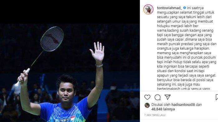 Biodata Tontowi Ahmad, Peraih Emas Olimpiade yang Pensiun Hari ini: Awalnya Cuma Demi Uang Jajan