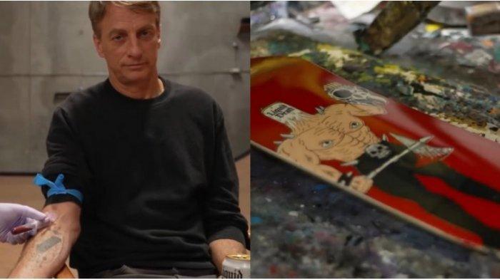 Legenda Skateboard Amerika, Tony Hawk, Jual 100 Skateboard Dicat dengan Darahnya, Langsung Ludes