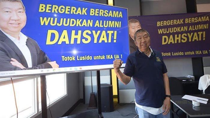 Maju Pemilihan Ketua IKA UA, Totok Lusida Ingin Perkuat Kolaborasi Alumni Unair - Pemda - Pemrov
