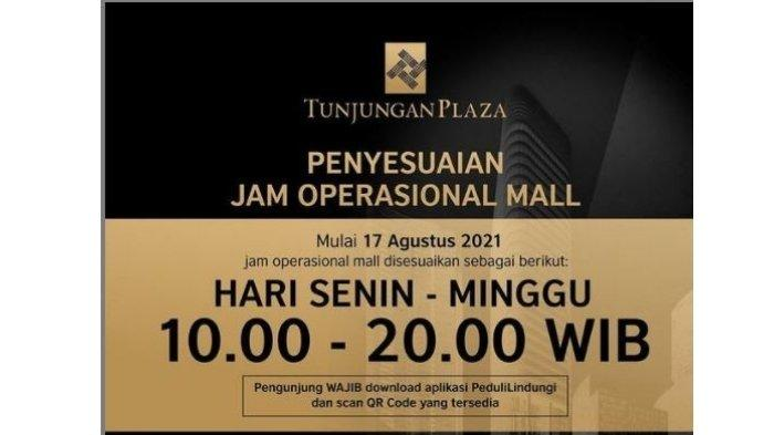 Pengunjung Mal di Surabaya Sudah Boleh Dine in saat PPKM Level 4 Diperpanjang, Ini Aturan Terbaru