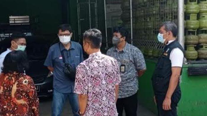 Kelangkaan Elpiji 3 Kg, Tim Pengendali Inflasi Daerah Kota Kediri Langsung Lakukan Sidak