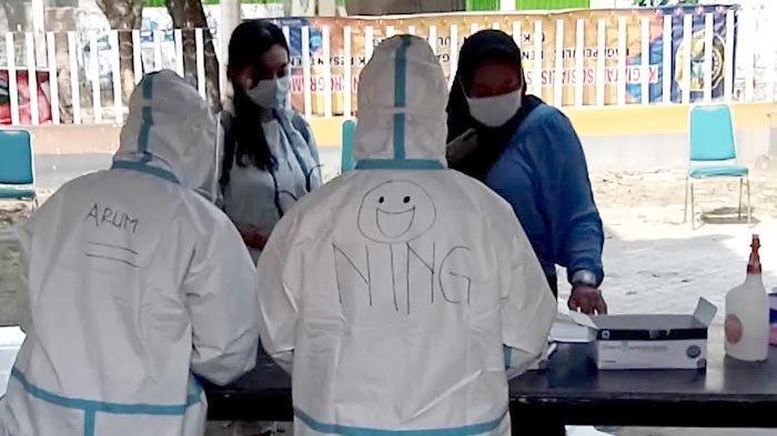 Petugas Kesehatan Menemukan 20 Orang di Gondang Tulungagung Terindikasi Tertular Covid-19