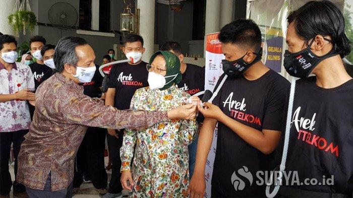 IT Telkom Surabaya Launching Masker Khusus untuk Aktivitas Olahraga