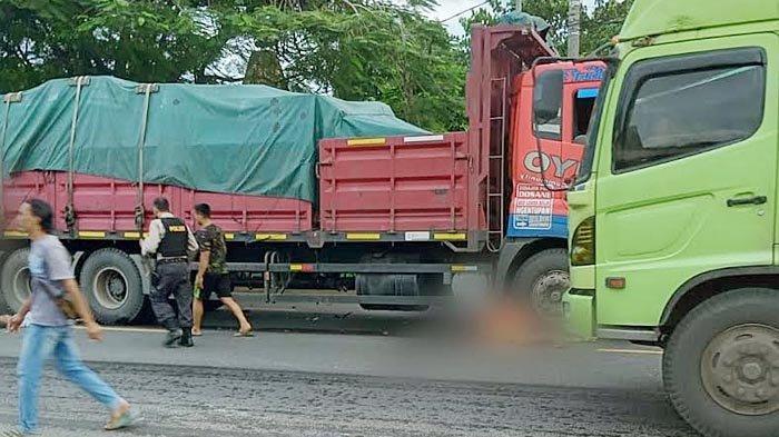 Ibu dan Anak di Tuban Luka Berat Usai Sepeda Motornya Dihantam Tronton di Jalur Pantura