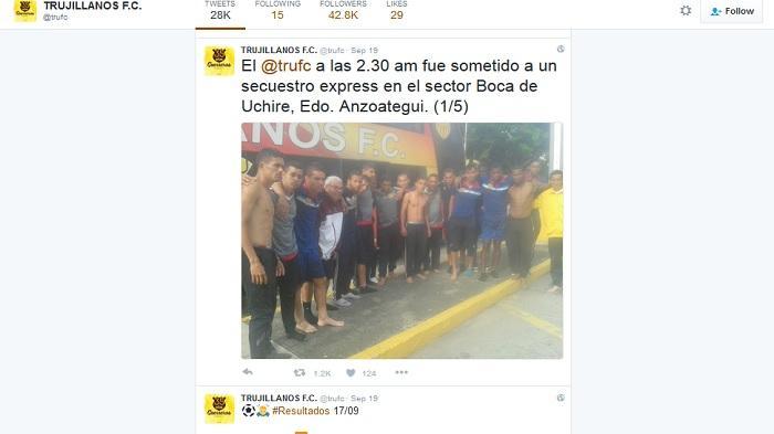 Dirampok Bandit Bersenjata, Para Pemain Sepakbola ini Tak Lagi Punya Sepatu